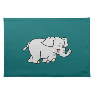 Cartoon Elephant Placemat