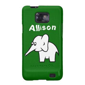 Cartoon Elephant Samsung Galaxy S2 Case