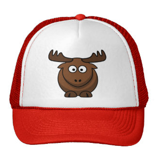 Cartoon Elk Reindeer Cap Hats