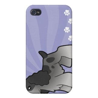 Cartoon English Cocker Spaniel iPhone 4/4S Cases