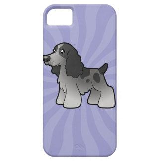 Cartoon English Cocker Spaniel iPhone 5 Case