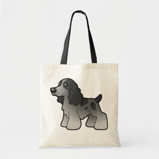 Cartoon English Cocker Spaniel Tote Bag