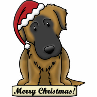 Cartoon Estrela Mountain Dog Christmas Ornament Photo Cutout