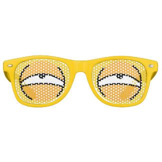 Cartoon Eyes Dying Sunglasses (Yellow)
