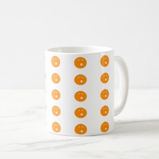 Cartoon face coffee mug