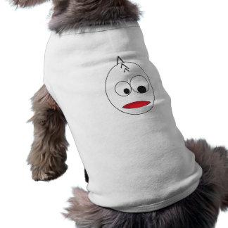 cartoon face male sleeveless dog shirt