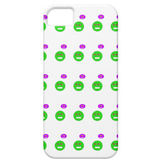 Cartoon faces barely there iPhone 5 case