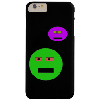 Cartoon faces barely there iPhone 6 plus case