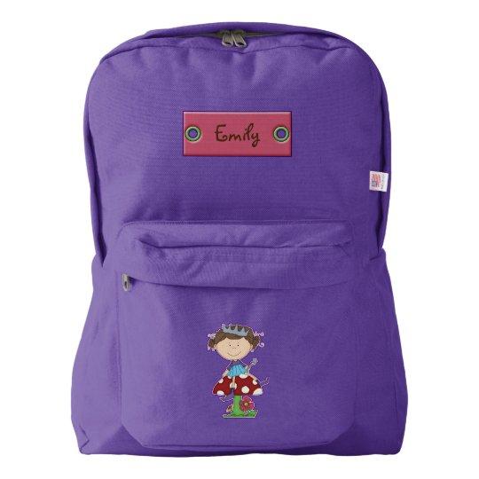 Cartoon Fairy Personalised Backpack
