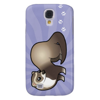 Cartoon Ferret Galaxy S4 Case
