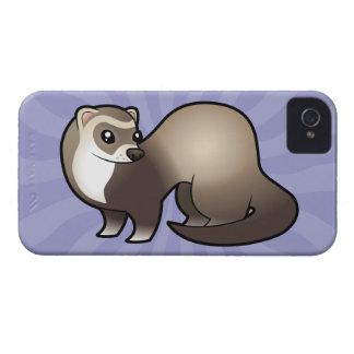 Cartoon Ferret iPhone 4 Cover