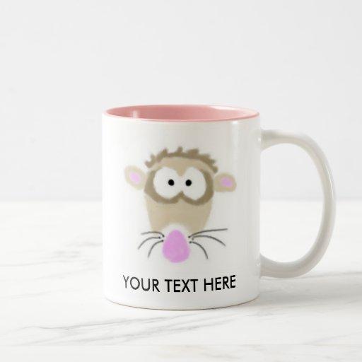 Cartoon Ferret Mug