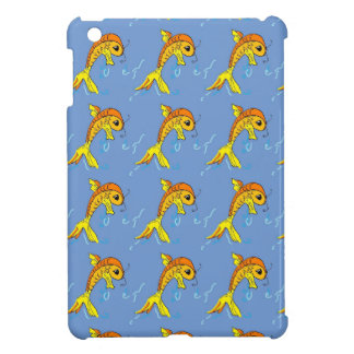 cartoon fish i-pad mini case iPad mini cover