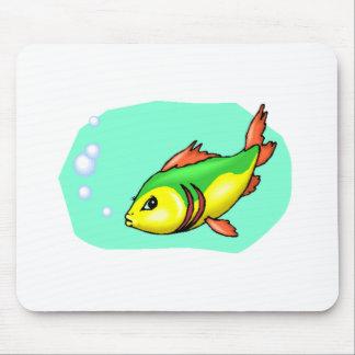 Cartoon Fish Mousepad