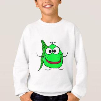 Cartoon fish sweatshirt