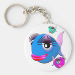 Cartoon Fish with BIg Lips and Eyelashes