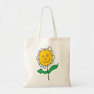 Cartoon Flower Canvas Bag