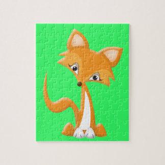 Cartoon Foxy Fox Jigsaw Puzzle