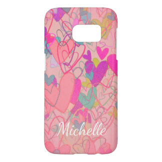 Cartoon Free Hearts Cheerful Nostalgic Cute Girly