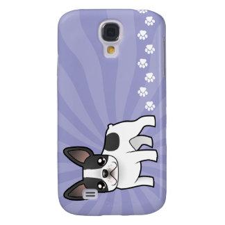 Cartoon French Bulldog Galaxy S4 Case