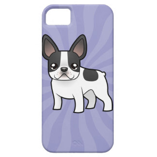 Cartoon French Bulldog iPhone 5 Cases