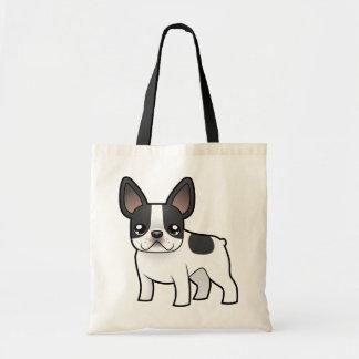 Cartoon French Bulldog Tote Bag