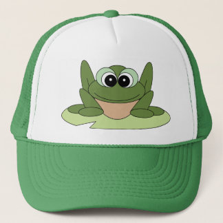 Cartoon Frog Hat
