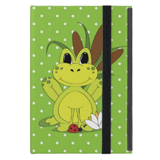 Cartoon Frog iPad Mini case