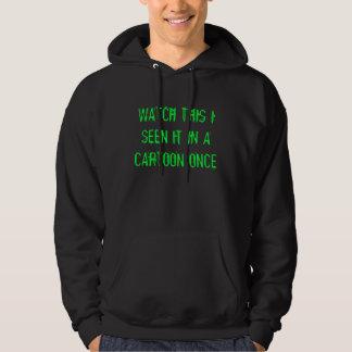 cartoon fun hoodie