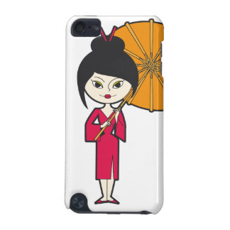 Cartoon Geisha Lady iPod Touch (5th Generation) Cover