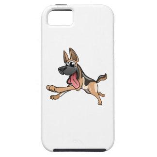 Cartoon German Shepherd iPhone 5 Covers