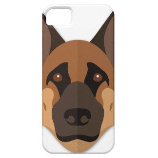 Cartoon German Shepherd Head iPhone 5 Covers