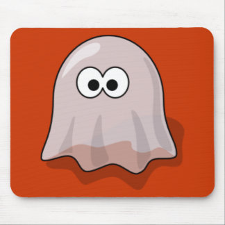 Cartoon Ghost Mouse Pad