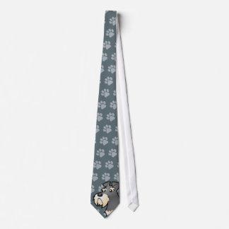 Cartoon Giant/Standard/Miniature Schnauzer Tie