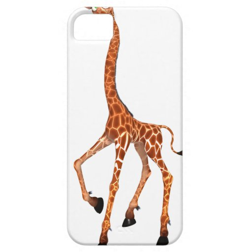 Cartoon Giraffe iPhone 5/5S Cases