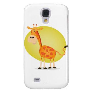 Cartoon Giraffe Samsung Galaxy S4 Case