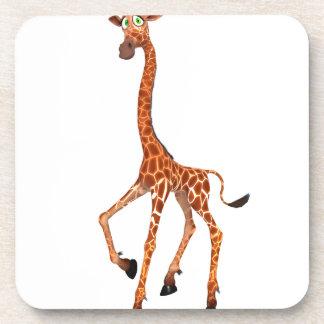 Cartoon Giraffe Drink Coasters