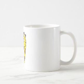 Cartoon Giraffe Face Coffee Mugs