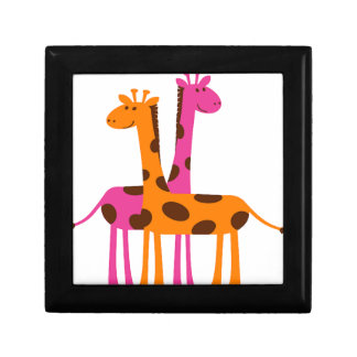 Cartoon Giraffe Gift Box
