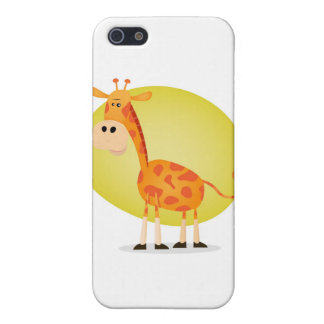 Cartoon Giraffe Covers For iPhone 5