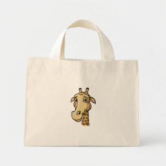 Cartoon Giraffe Mini Tote Bag