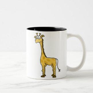 Cartoon Giraffe Mug