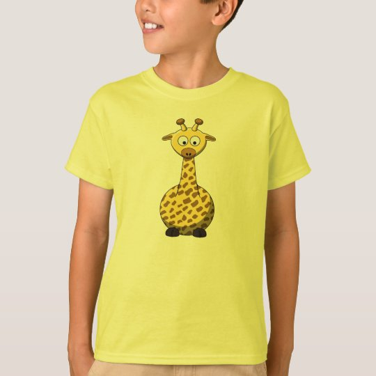 Cartoon Giraffe T-Shirt