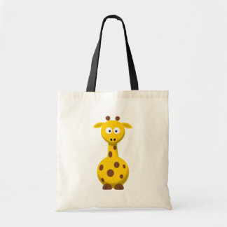 Cartoon Giraffe Tote Bag