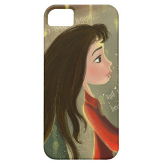 cartoon girl iPhone 5 Cases