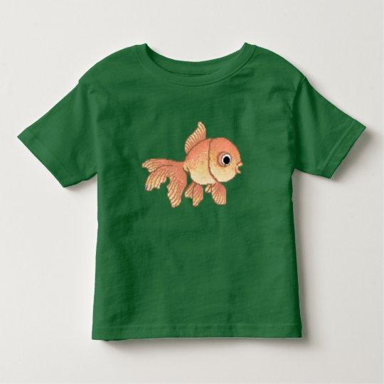 Cartoon Goldfish Toddler T-Shirt