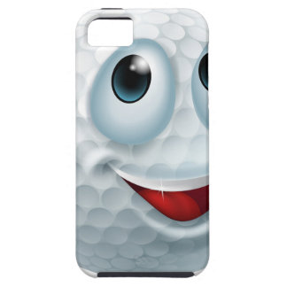 Cartoon golf ball character iPhone 5 covers