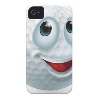 Cartoon golf ball character iPhone 4 Case-Mate case