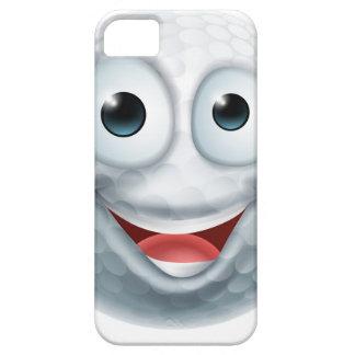 Cartoon Golf Ball Man Character iPhone 5 Cases