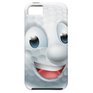 Cartoon Golf Ball Mascot Case For The iPhone 5